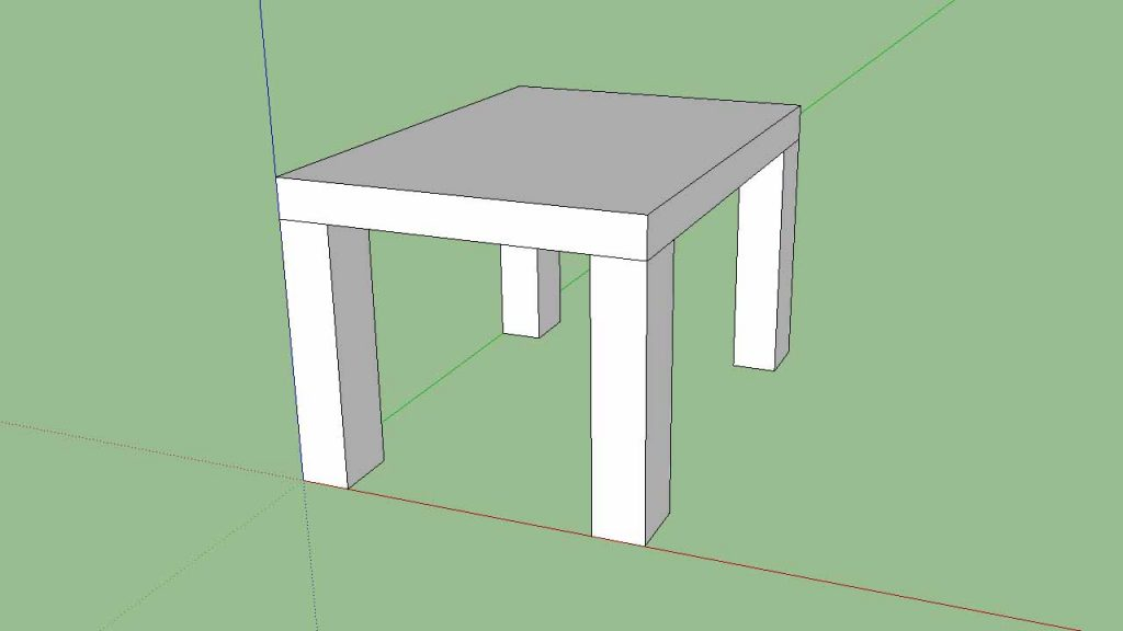 SketchUp Copy and Rotate