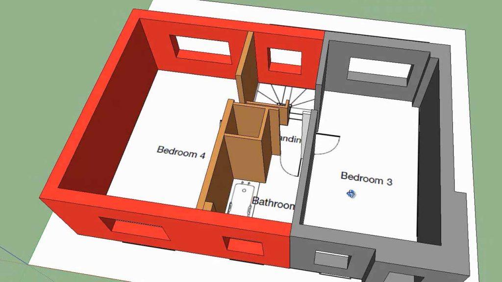 SketchUp Floor Plans