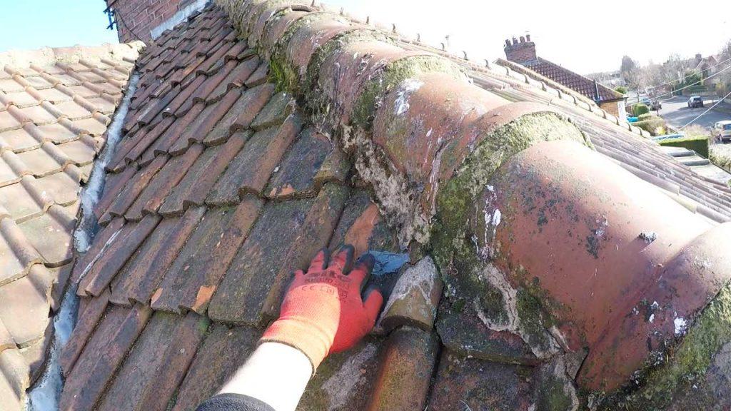 Amateur Roof Repairs